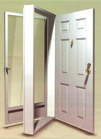 Combination doors combination doors screens windows for Door and screen door combo